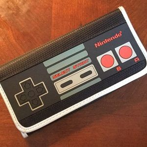 New Nintendo Controller Three Fold Wallet